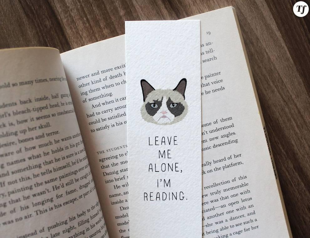 Marque-page Grumpy Cat