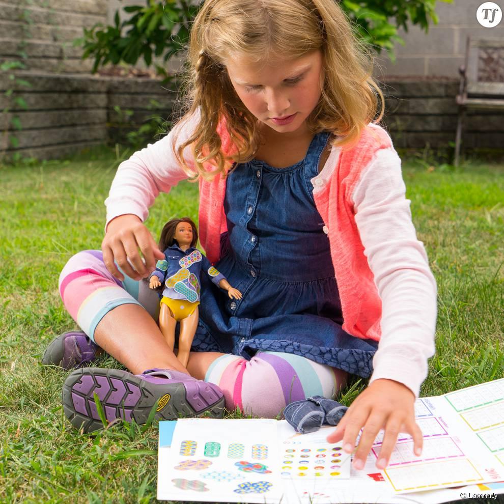 La poupée Lammily bientôt vendue avec son kit spécial menstruations