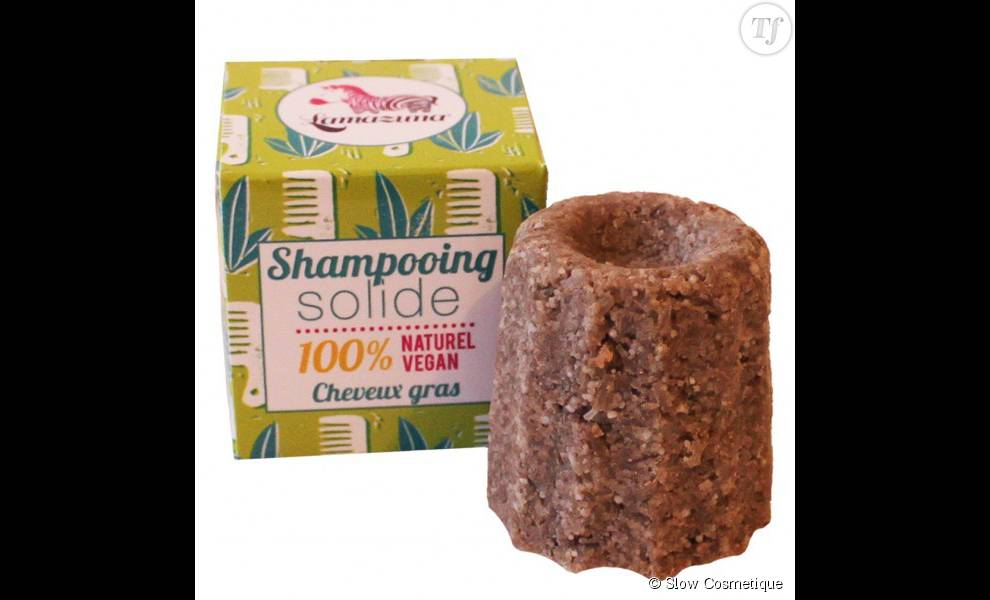 On est carrément tenté par ce shampoing solide 100% vegan, de la marque Lamazuna.