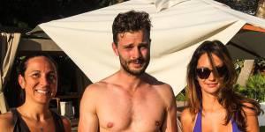 Jamie Dornan : des vacances avec Amelia Warner et Dulcie sous le soleil d'Ibiza (photos)