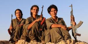 Ces trois femmes tuent 10 djihadistes de l'Etat islamique par jour