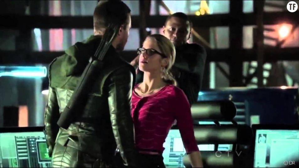 Olicity dans Arrow
