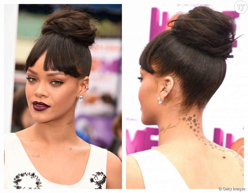 Rihanna Et Son Bun Xxl Terrafemina