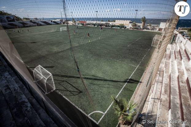 "Le terrain d'entraînement de la ""Girls Football Academy"" au Liban"