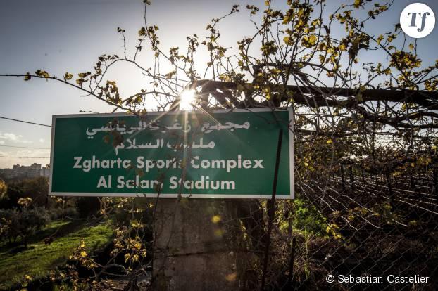 Le stade Al Salam de la ville de Zgharta