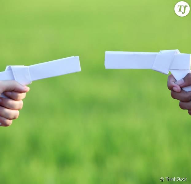 La bonne idée de La Fabrique à Neuf : échanger les armes factices contre de vrais jouets