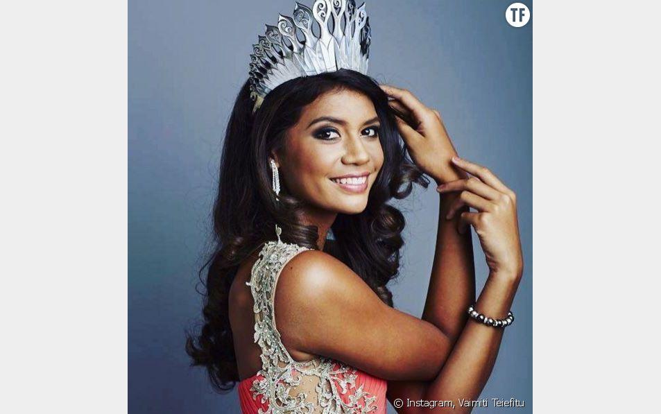 Vaimiti Teiefitu, future miss France ?