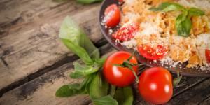La délicieuse recette des pâtes fraîches aux champignons et tomates séchées