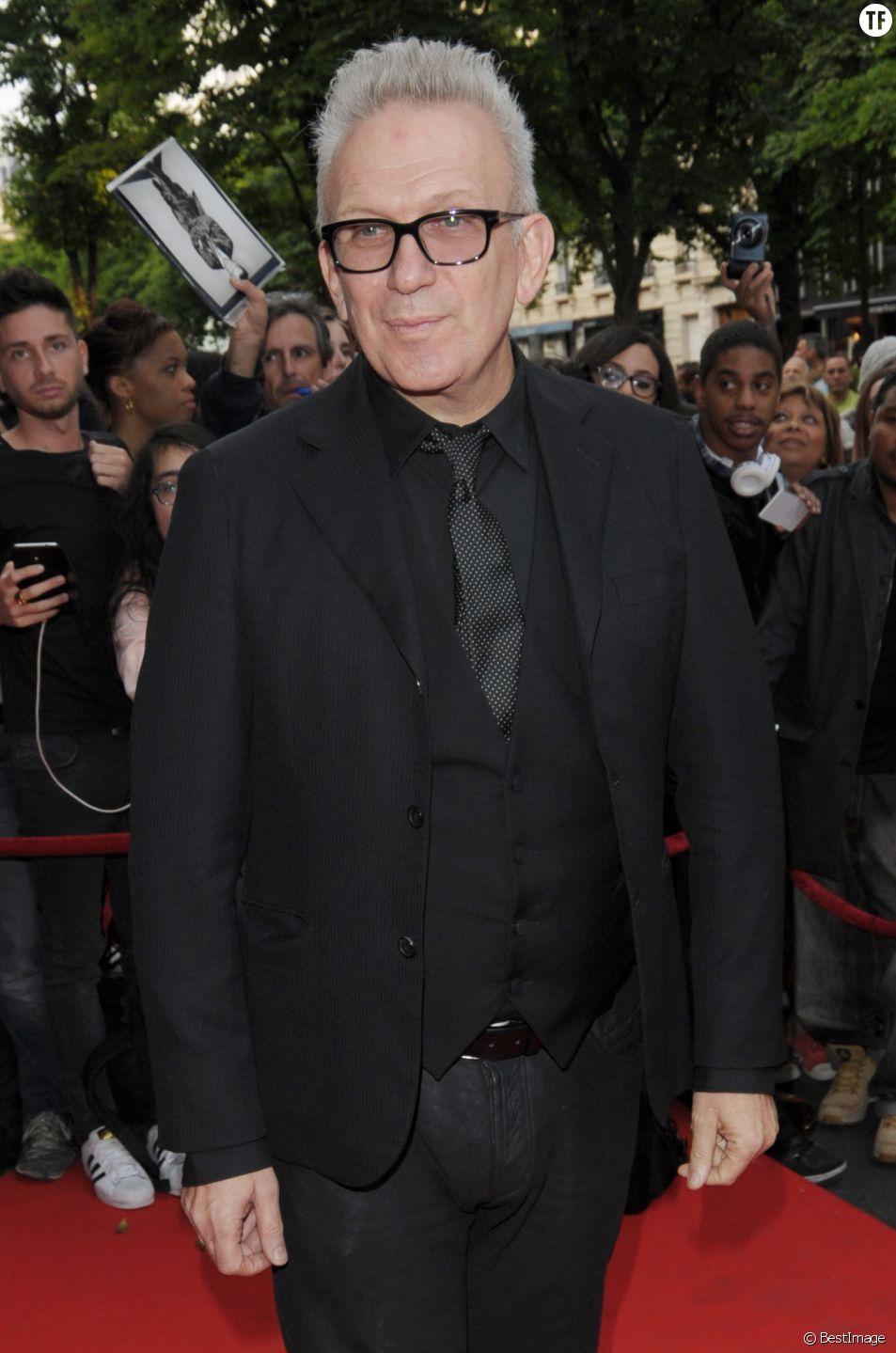 Le président du jury, Jean-Paul Gaultier