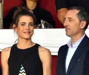Charlotte Casiraghi et Gad Elmaleh en juin dernier