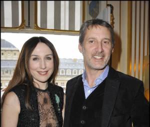 Elsa Zylberstein et Antoine de Caunes en 2011