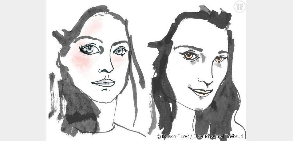 Portrait de Sidonie Floret et Sarah Abid