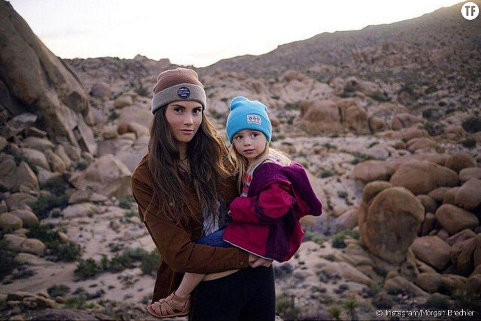 Born Wild Project : cette super maman explore la nature avec son bambin sur le dos