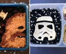 Ce papa a créé des lunchboxes pour ses petits Jedi