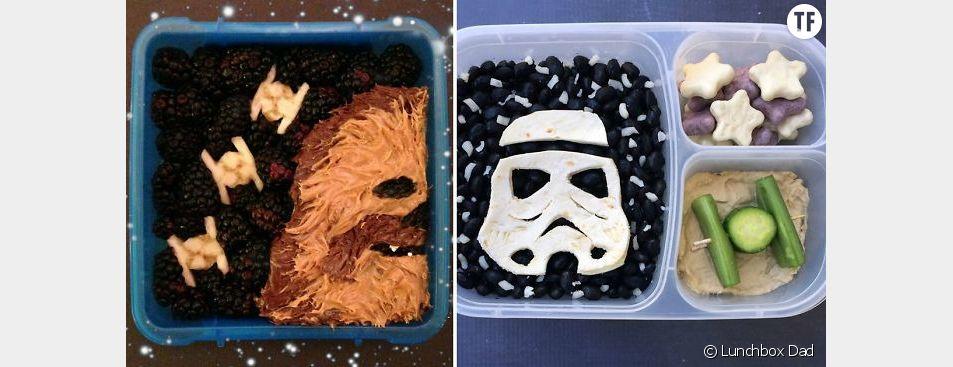 Des lunchboxes Star Wars pour manger équilibré en s'amusant