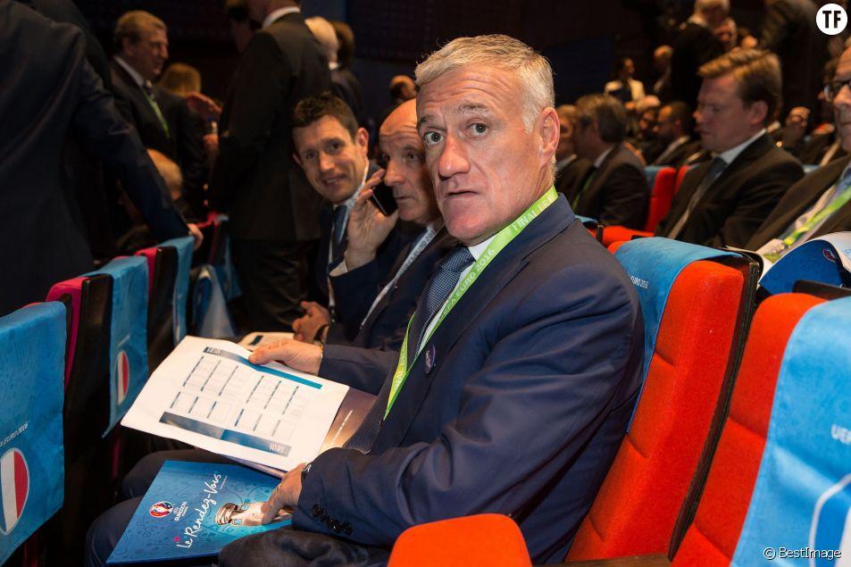 Didier Deschamps - Tirage de l'Euro 2016 de football au Palais des Congrès de Paris le 12 décembre 2015 © cyril Moreau / Bestimage