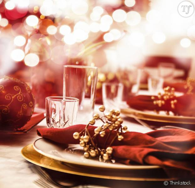 15 jolies id es d co de no l pour la table et la maison - Pinterest table de noel ...