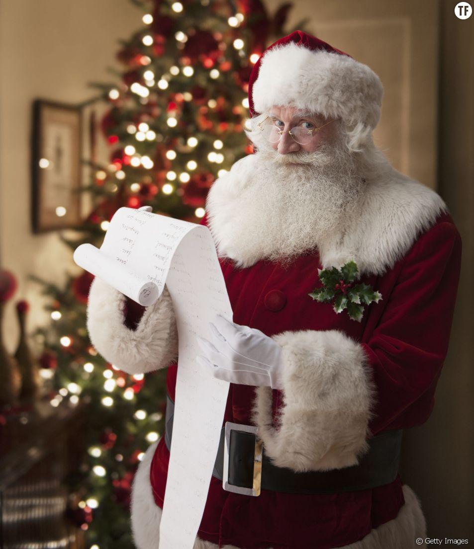 Le Père Noël vous a laissé un message