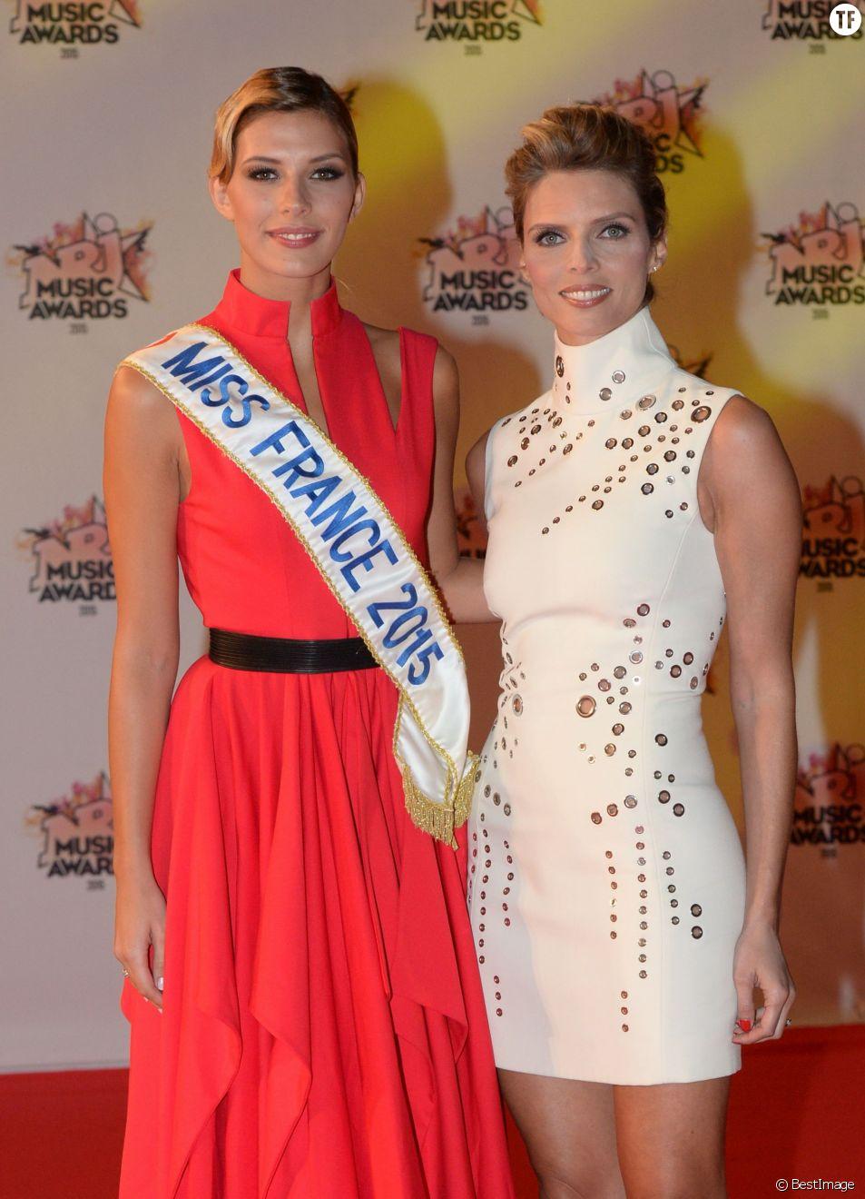 Camille Cerf, Miss France 2015 et Sylvie Tellier