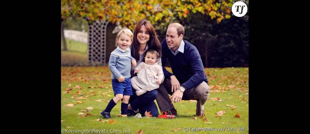 Kate Middleton le prince William et leurs deux enfants la princesse Charlotte et le prince George