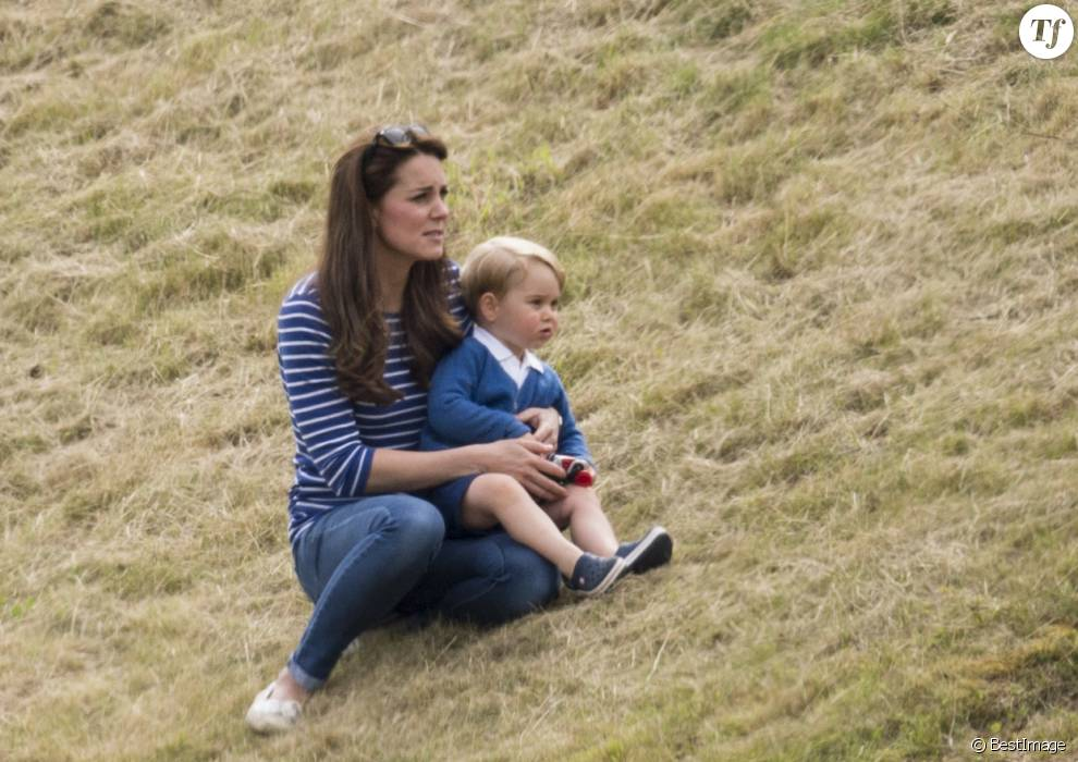 Kate Middleton, la duchesse de Cambridge et son fils le prince George de Cambridge