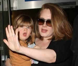 La chanteuse Adele et son fils Angelo Konecki