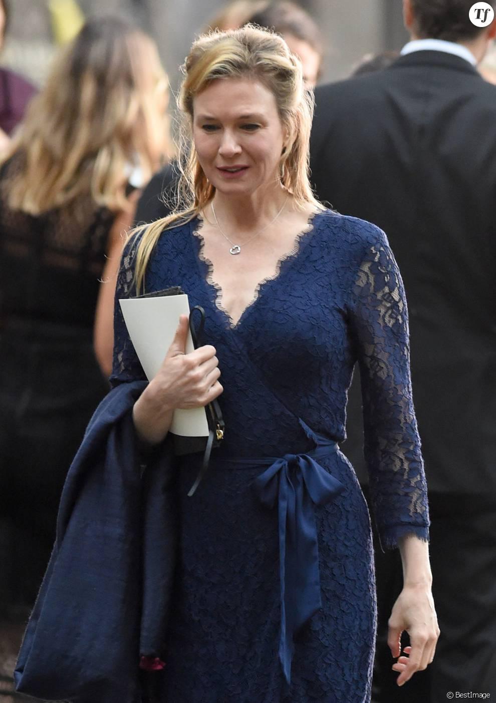 """Renée Zellweger - Tournage du film """"Bridget Jones 3"""""""