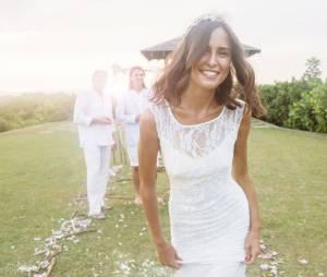 lettre celle que jtais le jour de mon mariage - Laurence Boccolini Mariage Photo