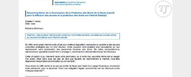 Arnaque : Attention aux faux mails Hadopi !