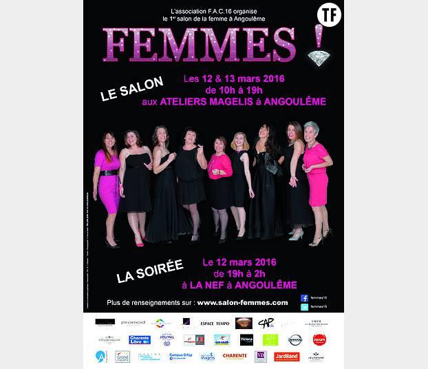 Rose bonbon et strass clinquants : le Salon de la Femme d'Angoulême