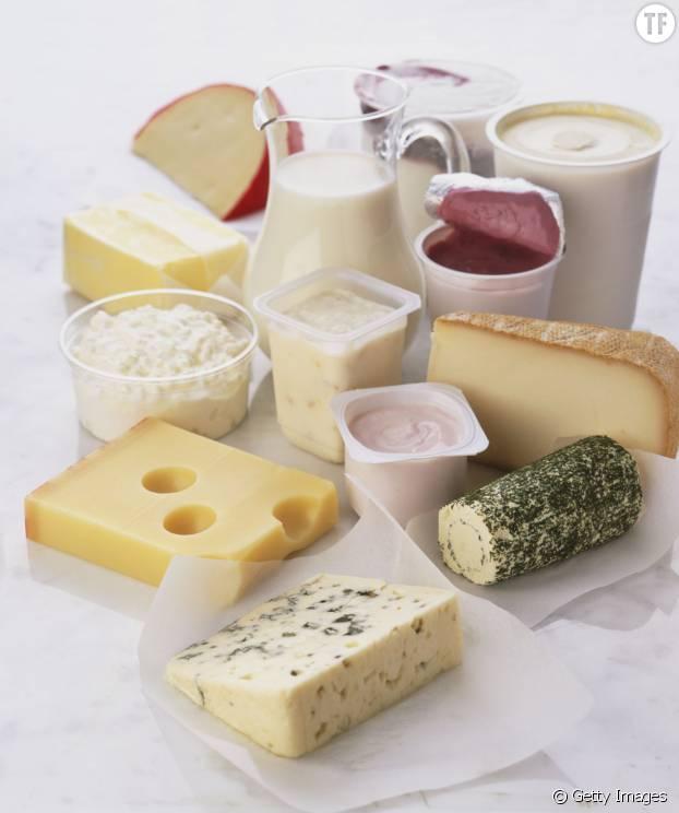 Et notamment du fromage et des yaourts
