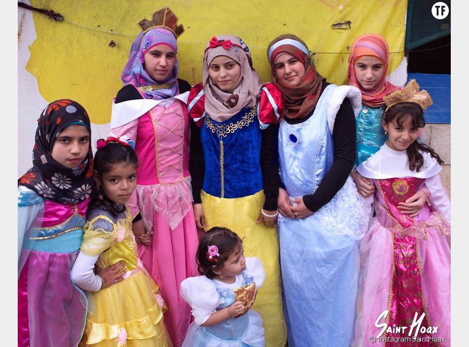 Les petites princesses syriennes de Saint Hoax
