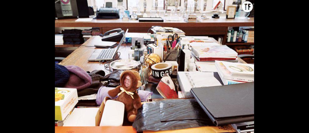 Le désordre encourage la créativité: le bureau de Marc Jacobs