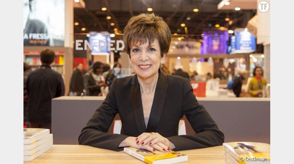 Catherine Laborde au salon du livre en mars 2016