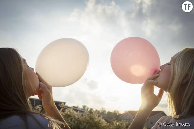 Des ballons gonflables, la bonne idée