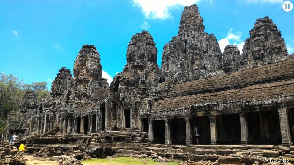 Grace à ses sites archéologiques extraordinaires, la ville de Siem Reap prend la 5ème place du classement.