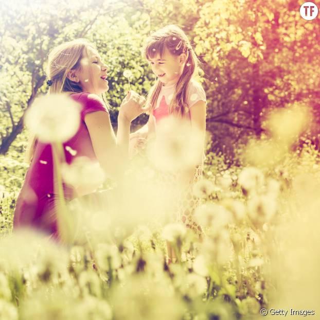 Un jardin fleuri, le bonheur