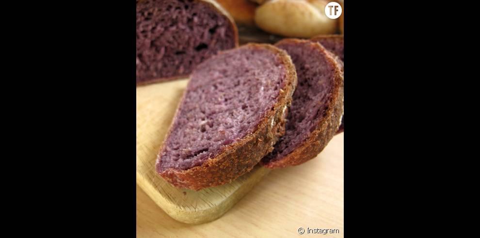 Un pain violet bon pour votre santé comme pour votre ligne