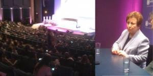 Women's Forum : Shirin Ebadi promet « le feu sous la cendre » en Iran