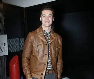 """Louis Sarkozy à la soirée de lancement du nouveau site """"Ma Beauté Luxe"""" à Paris, le 16 mars"""
