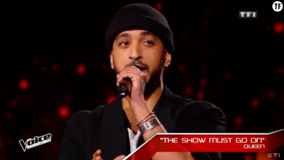 Slimane dans The Voice 5
