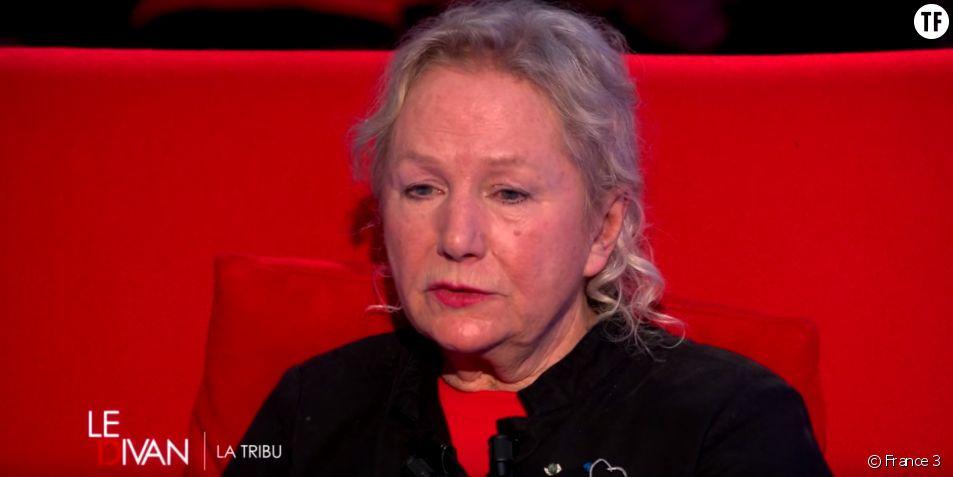 Agnès b. dans le Divan de Marc-Olivier Fogiel