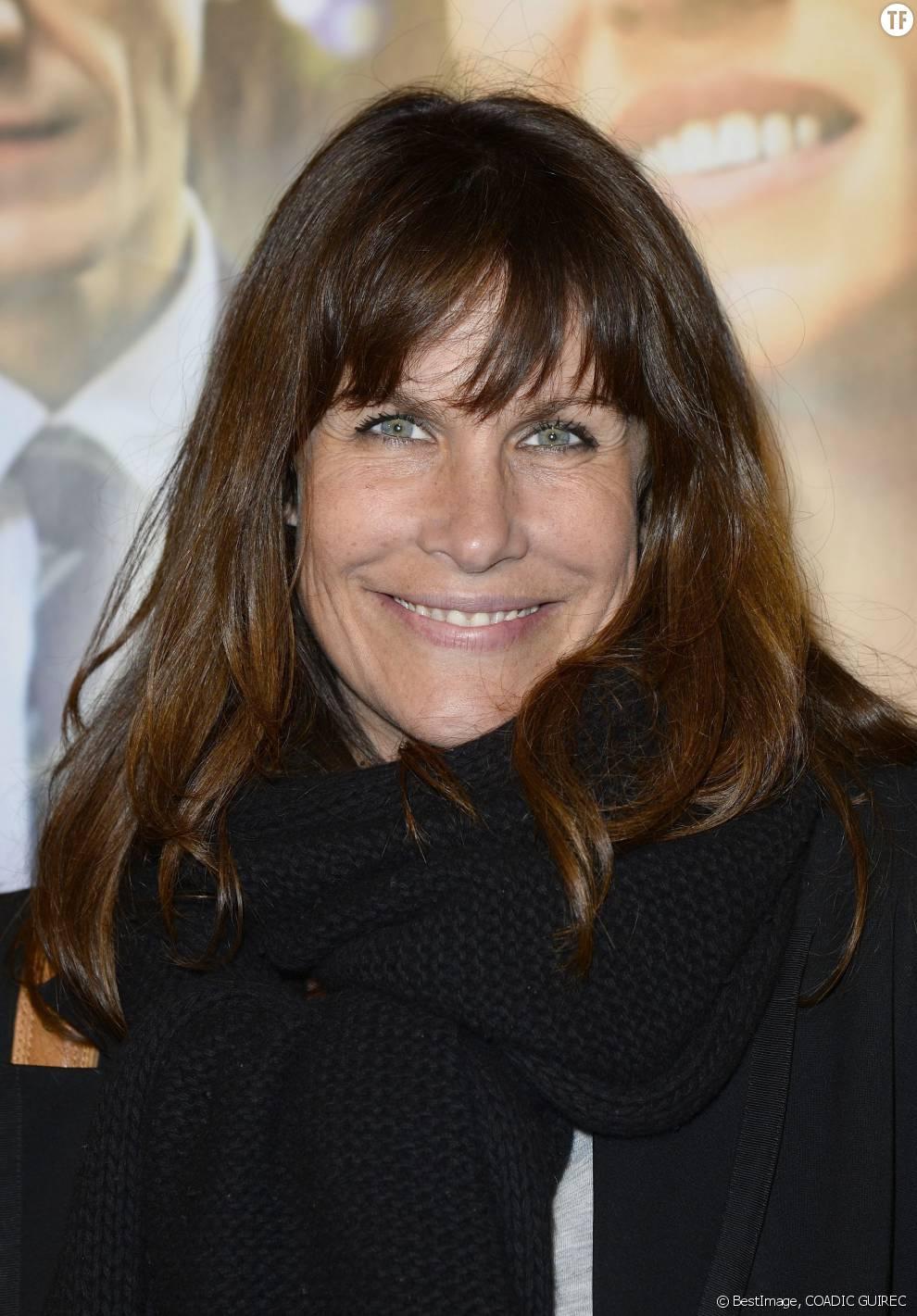La comédienne Astrid Veillon