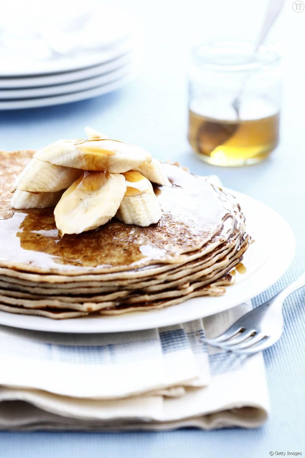 Pancakes à la banane en deux ingrédients: un petit-déjeuner rapide et healthy