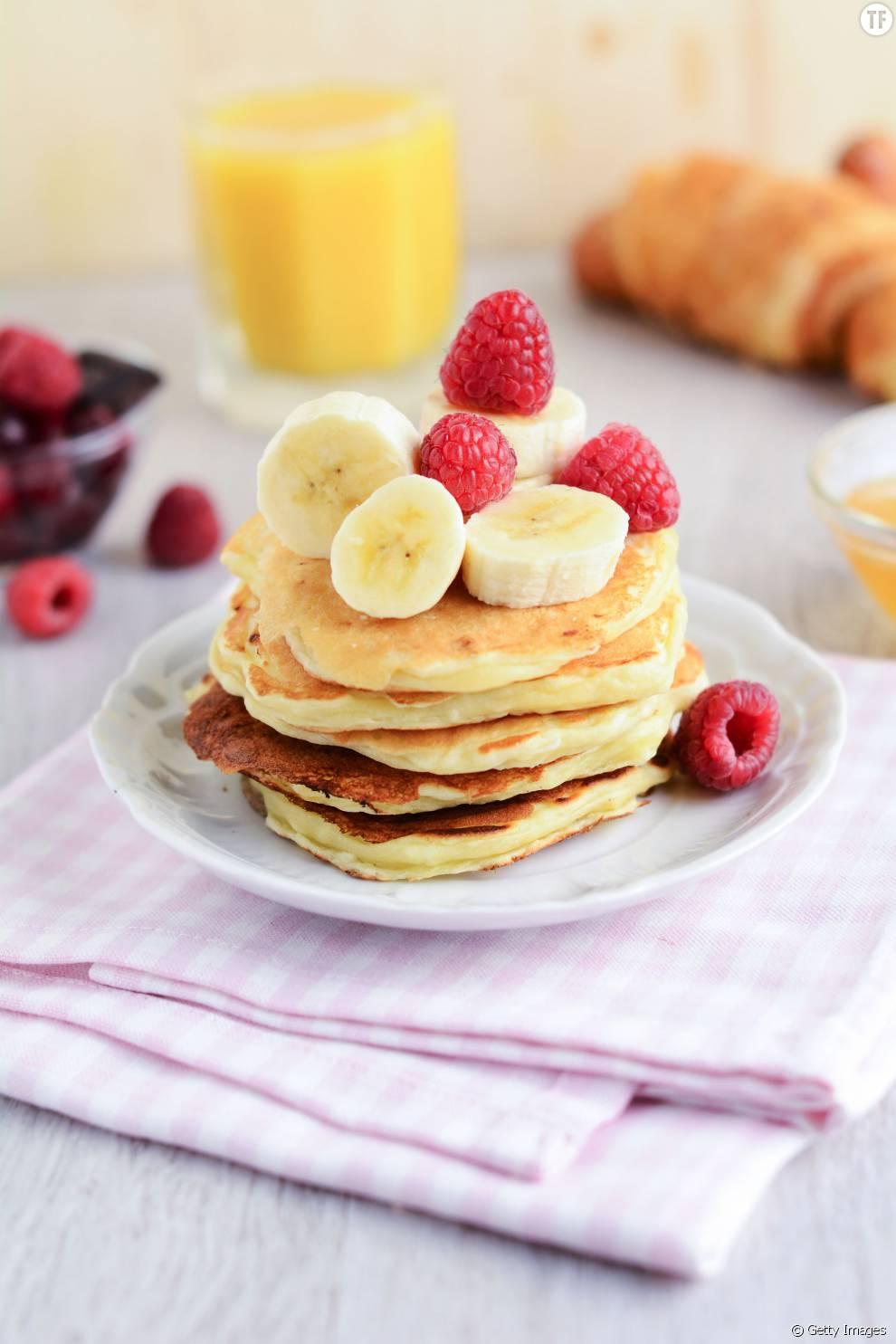 Pancakes à la banane en deux ingrédients et cinq minutes: essayez!