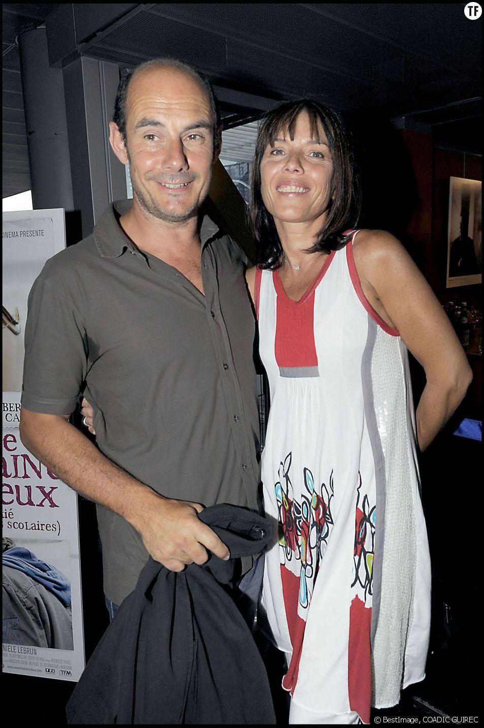 Bernard Campan et son épouse en 2009
