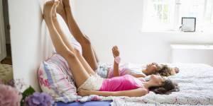 Cette posture de yoga va vous aider à mieux dormir