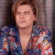 "Leonardo DiCaprio dans ""Romeo + Juliet"" en 1996"