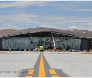 Spaceport America : Richard Branson inaugure son aéroport spatial