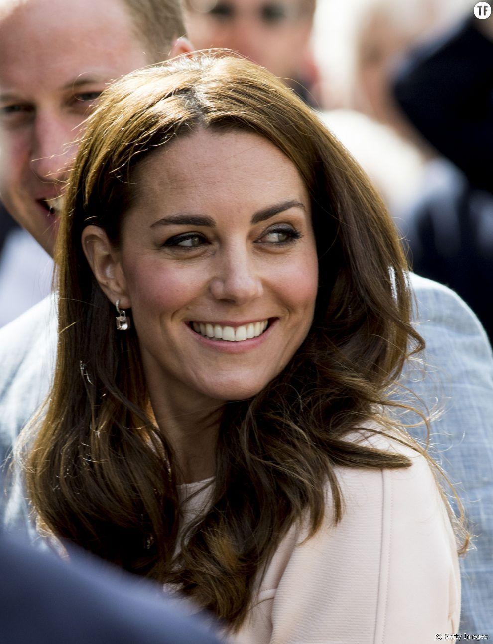Le nez de Kate Middleton